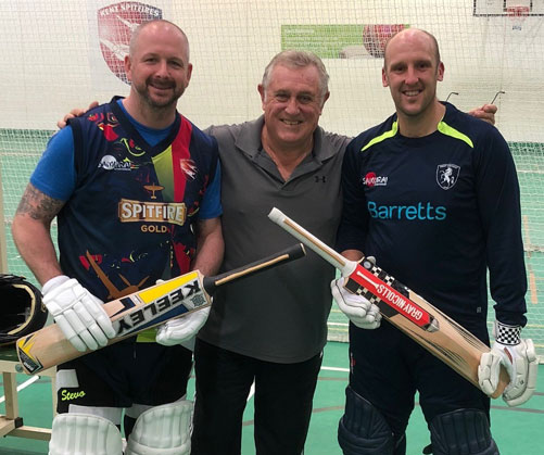 Chemique Adhesives knocks a cricket bat challenge for six