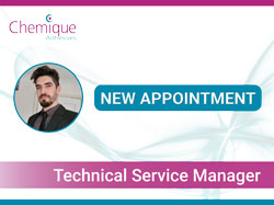 Chemique Adhesives welcomes new appointment
