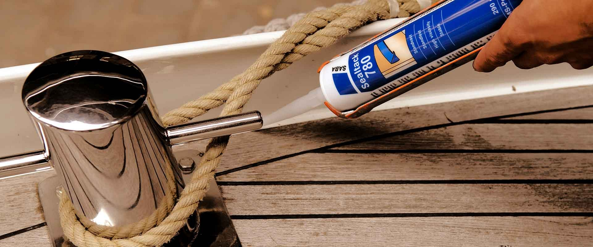 Saba Marine Grade Adhesive and Sealants Banner