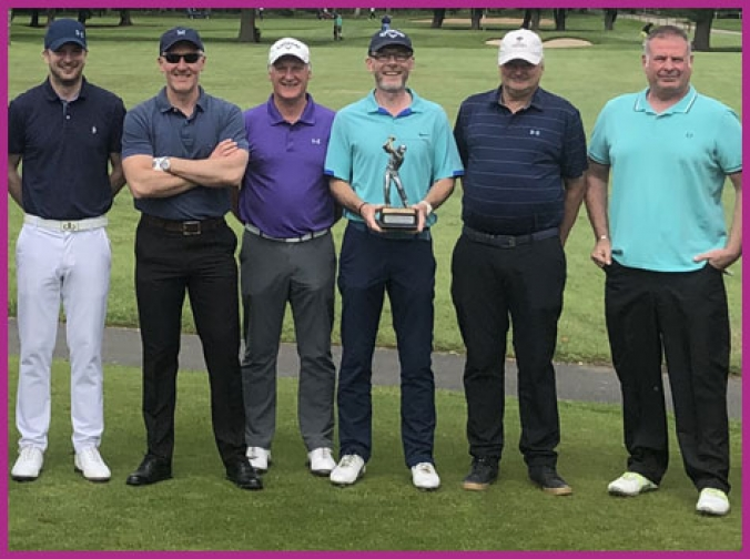 Chemique Adhesives' first annual golf tournament in memory of ex-colleague proves a swinging success