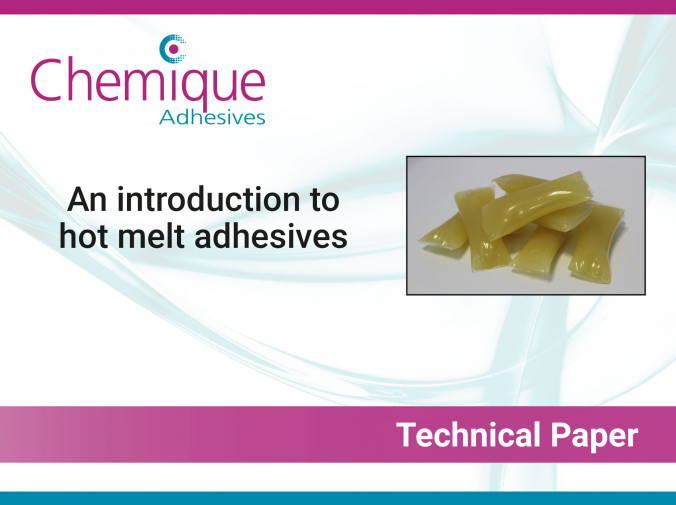 Technical Paper - Introduction to hot melt adhesives