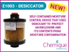 Chemique Adhesives launches new desiccator / dehumidifier